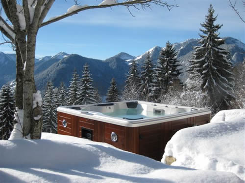 Outdoor hottub/spa (with dvd & music system with ipod dock)